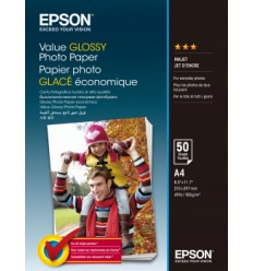 Epson Value Glossy Photo Paper A4 (210×297 mm) Kiilto Monivärinen valokuvapaperi