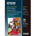 Epson Value Glossy Photo Paper - 10x15cm 20 Arkkia