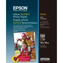 Epson Value Glossy Photo Paper - 10x15cm 100 Arkkia