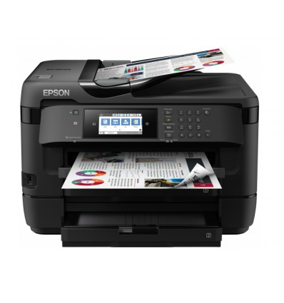 Epson WorkForce WF-7720DTWF Mustesuihku A3+