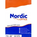 Nordic office 105x37mm, A4-etikettitarra 105x37